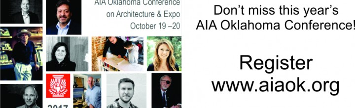 AIA Oklahoma Conference on Architecture – REGISTER TODAY!