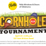 Cornhole Tournament on April 24!